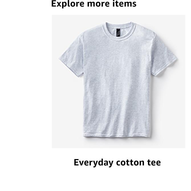 Everyday cotton tee