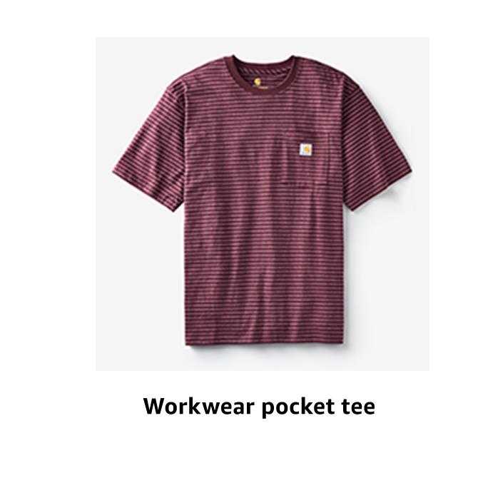 Workwear pocket tee