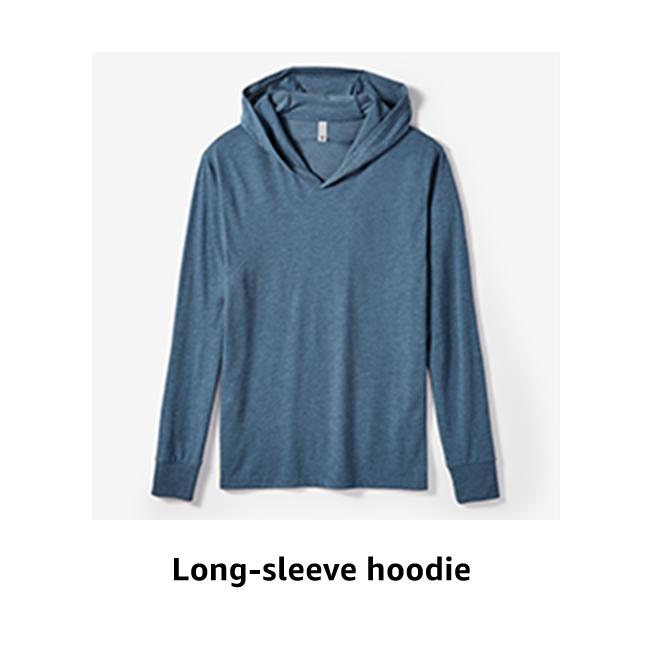 Long-sleeve hoodie