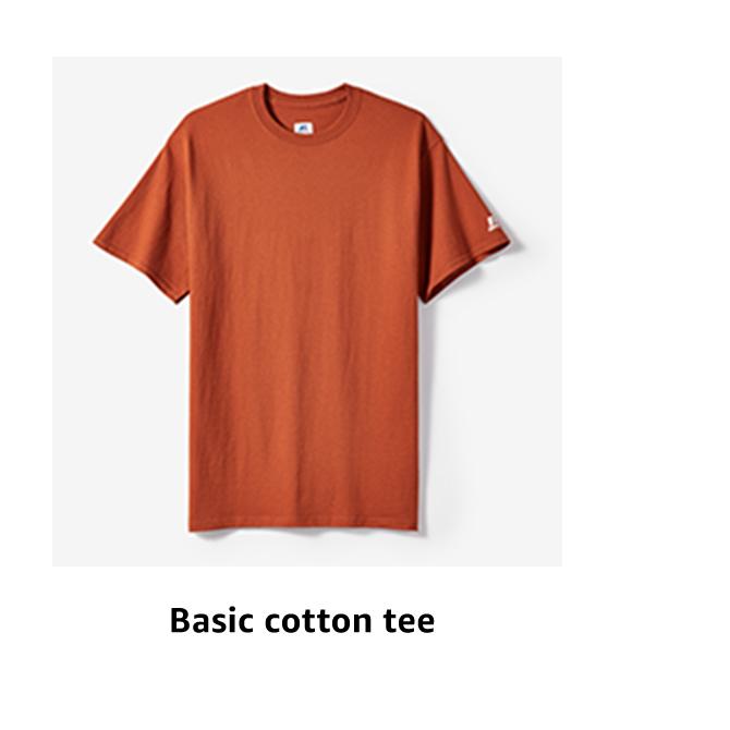 Basic cotton tee