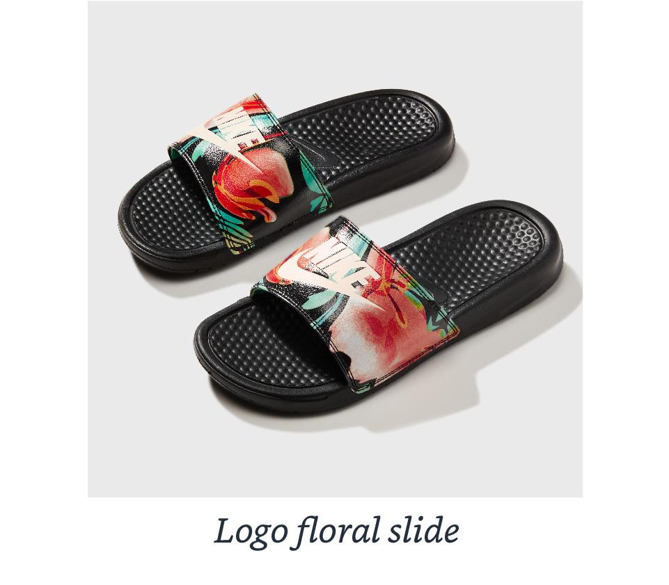 Logo floral slide