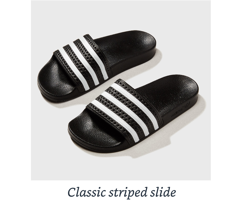 Classic striped slide
