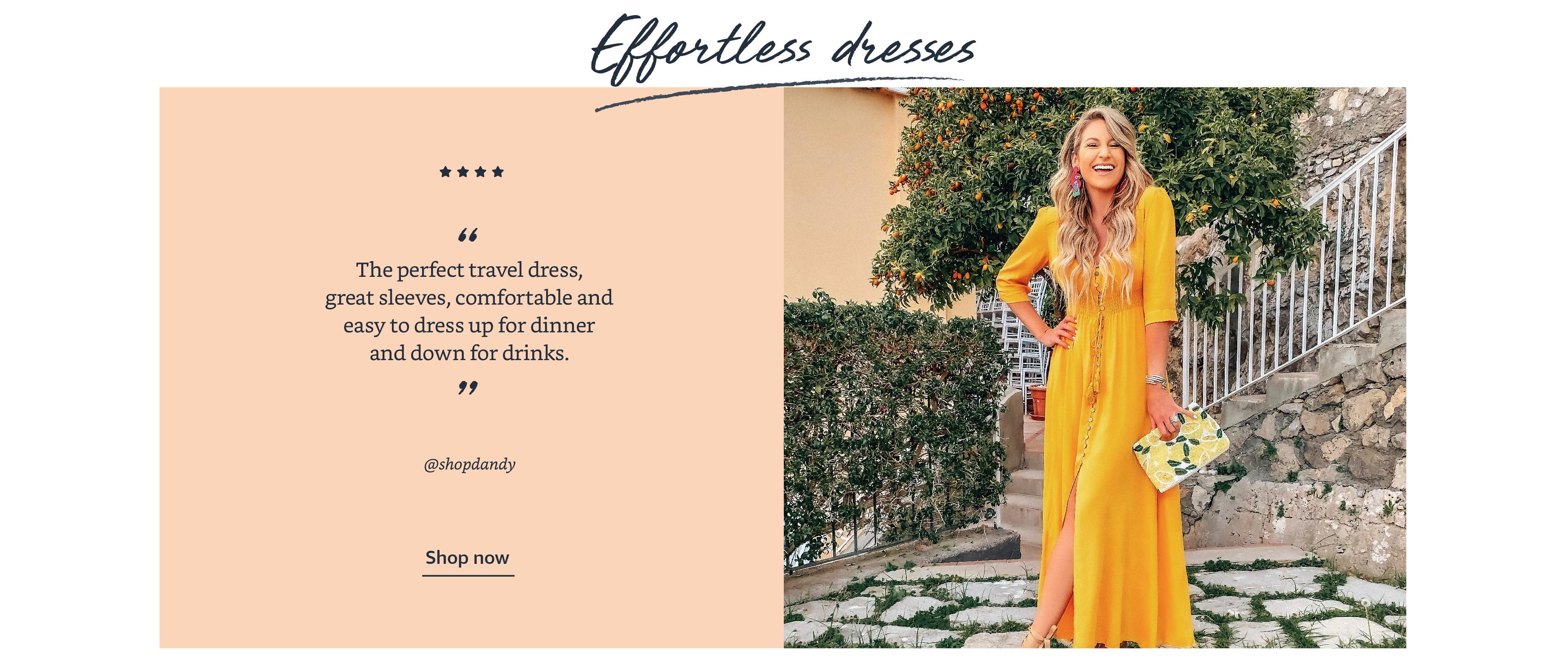 Effortless dresses