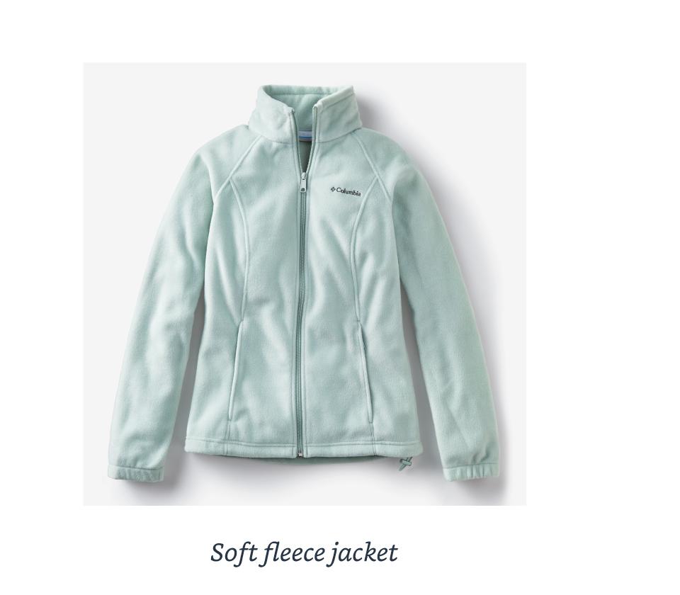 Soft fleece jacket