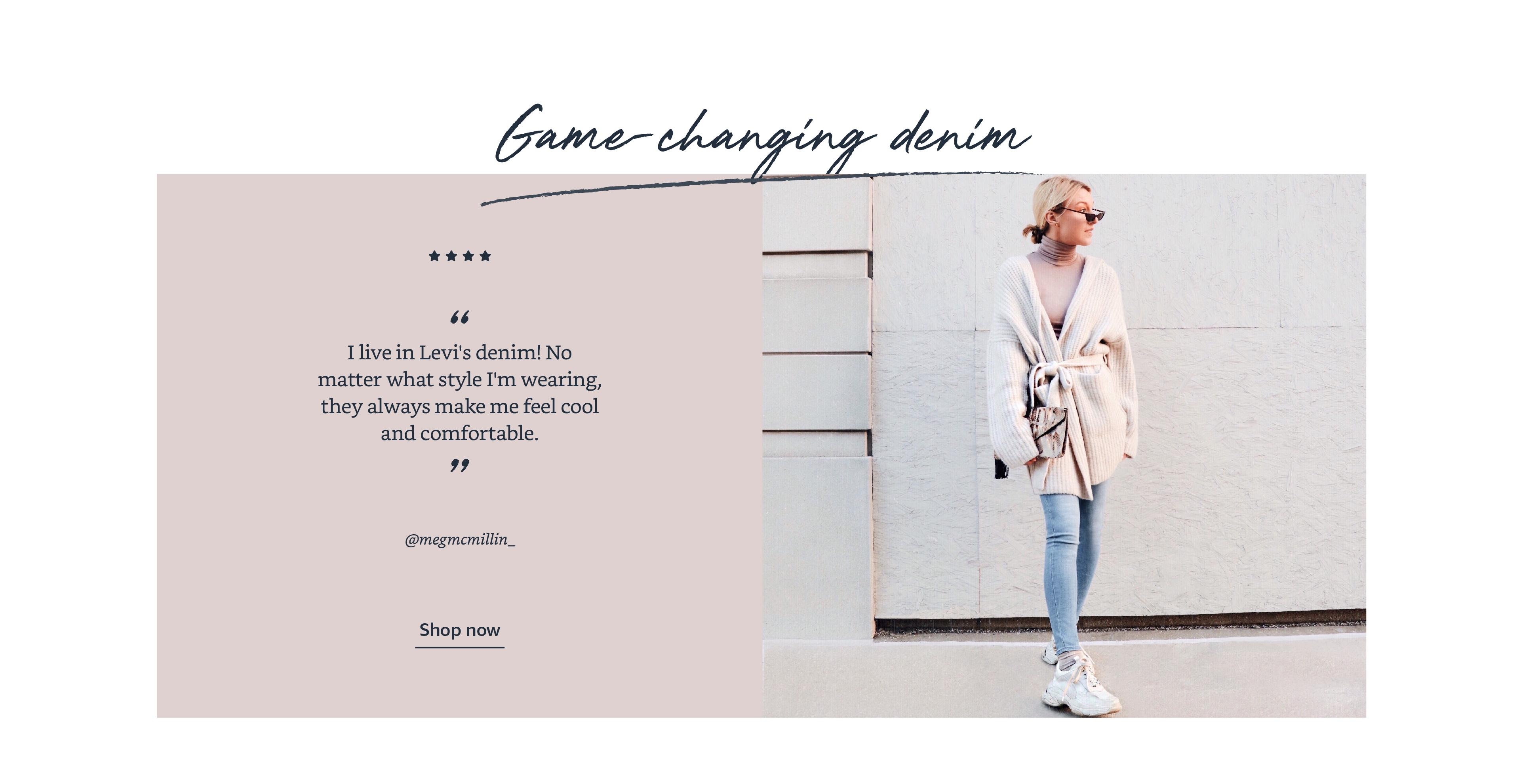 Game-changing denim