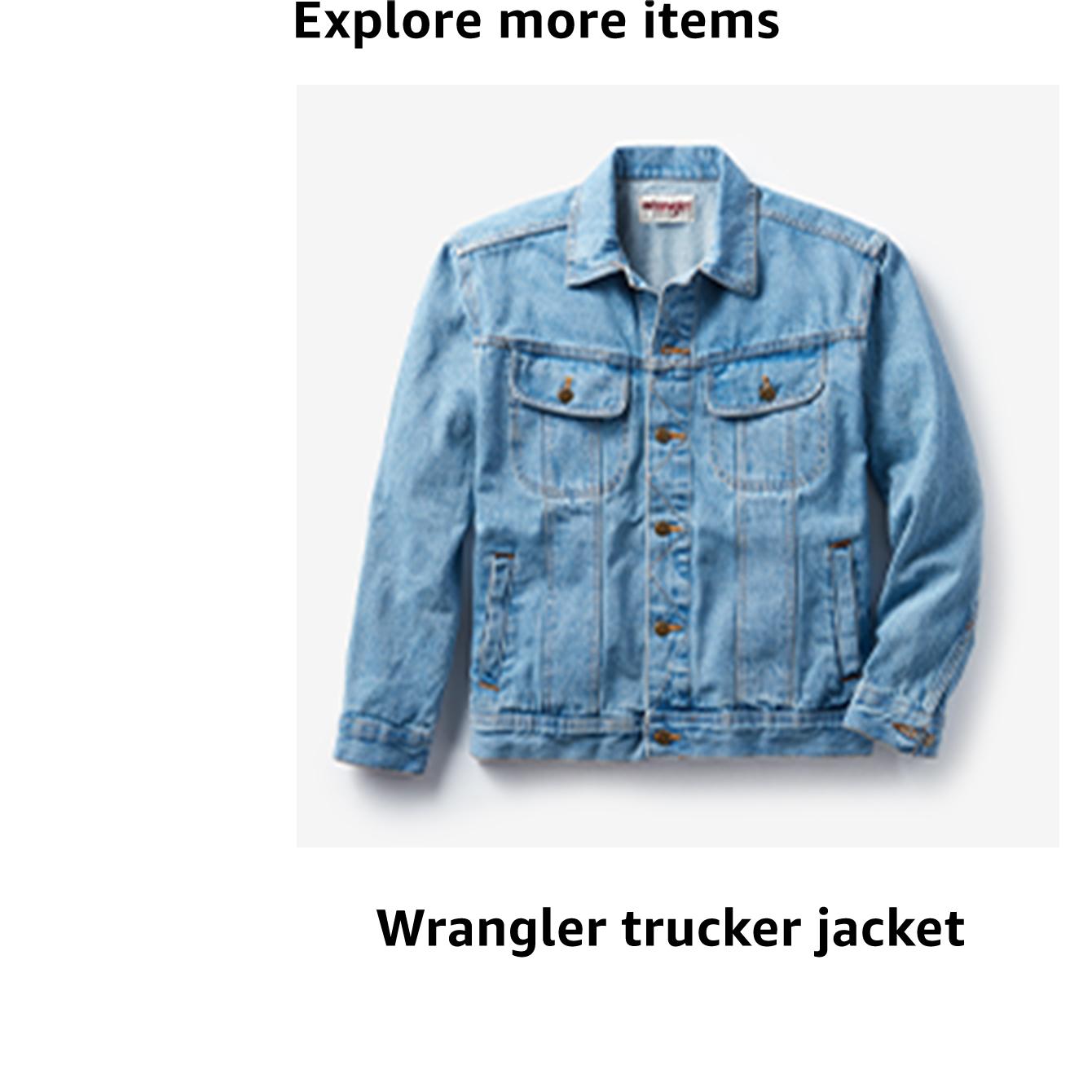 Wrangler trucker jacket