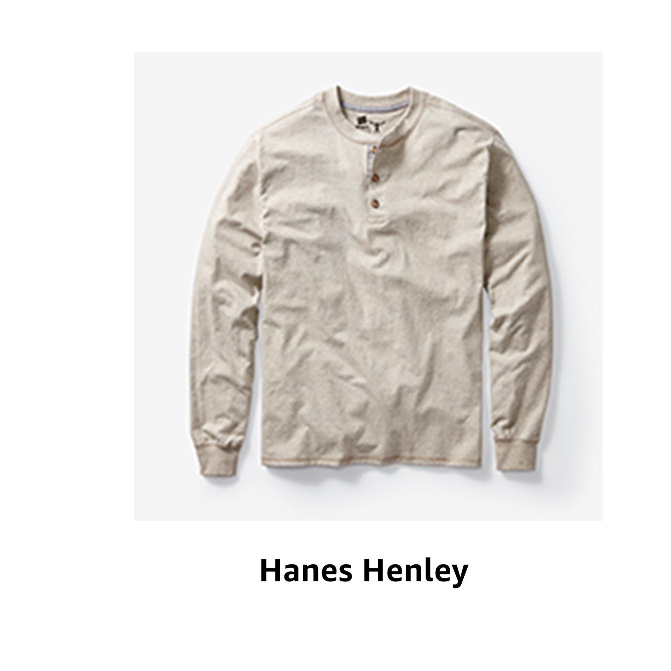 Hanes Henley