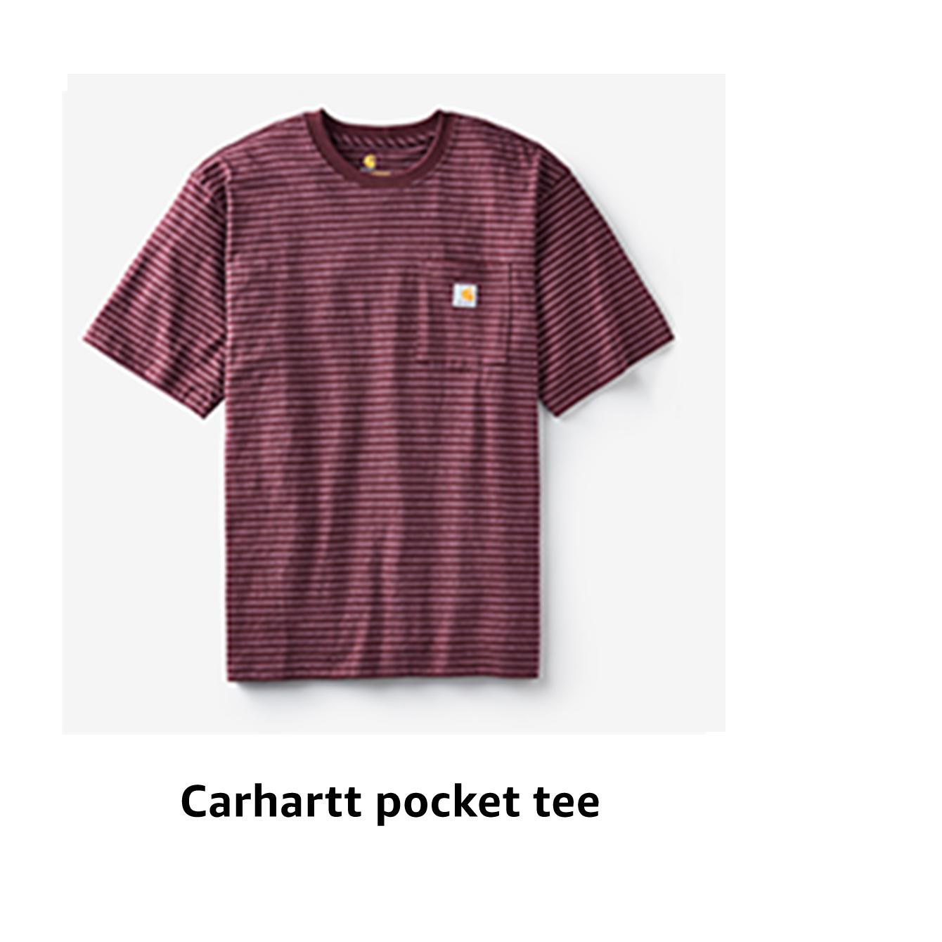 Carhartt pocket tee