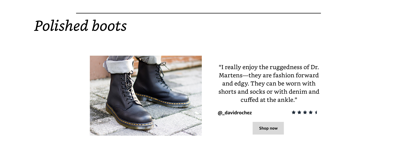 Polished Boots
