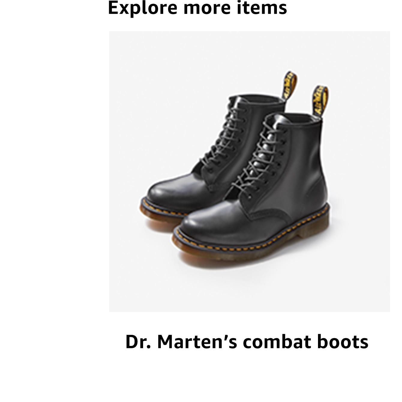 Dr. Marten's combat boots