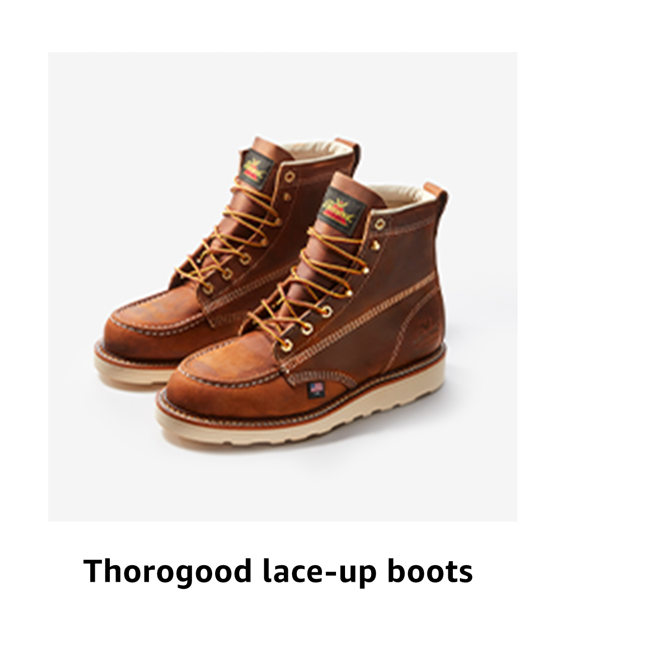Thorogood lace-up boots