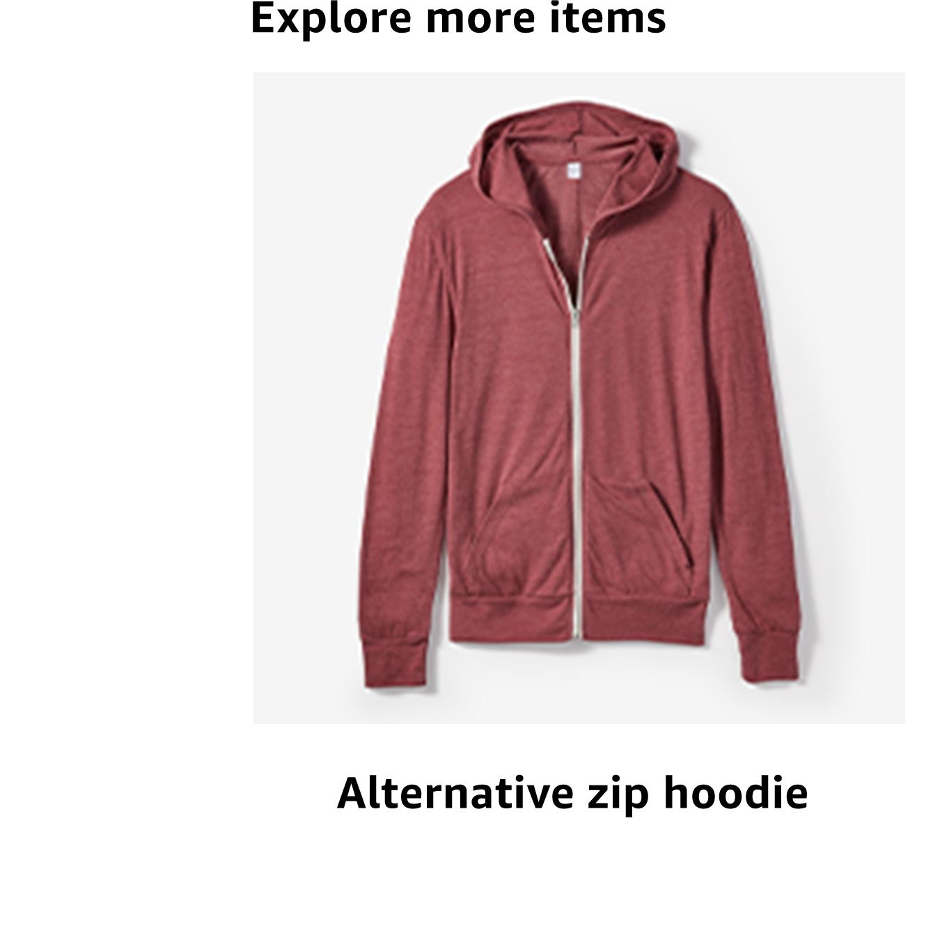 Alternative zip hoodie