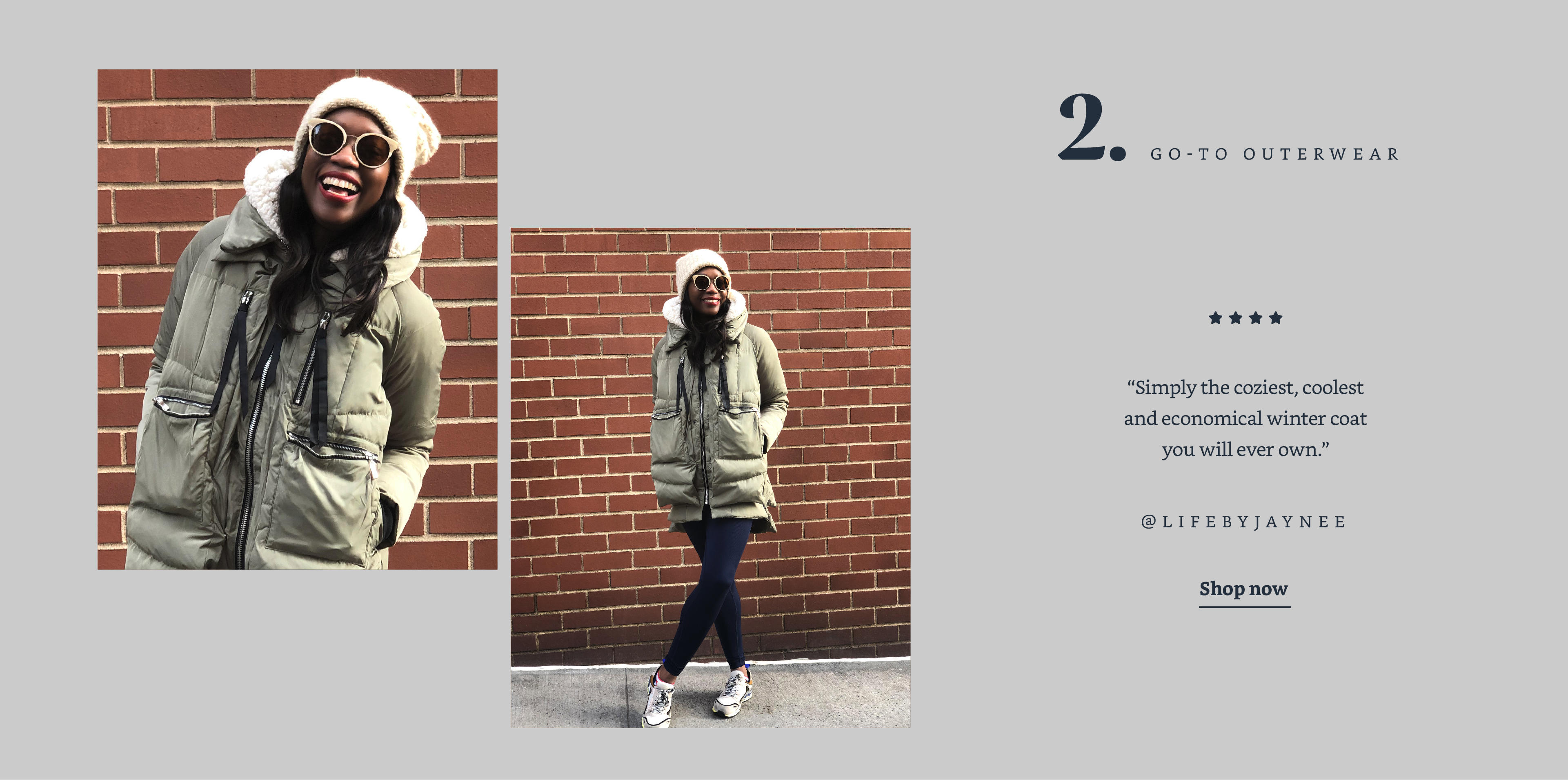 Go-to Outerwear