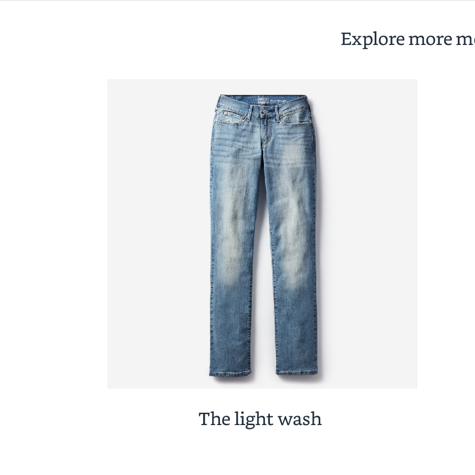 The light wash
