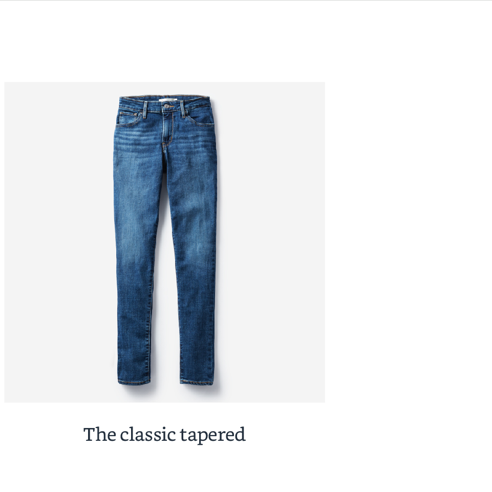 The classic tapered