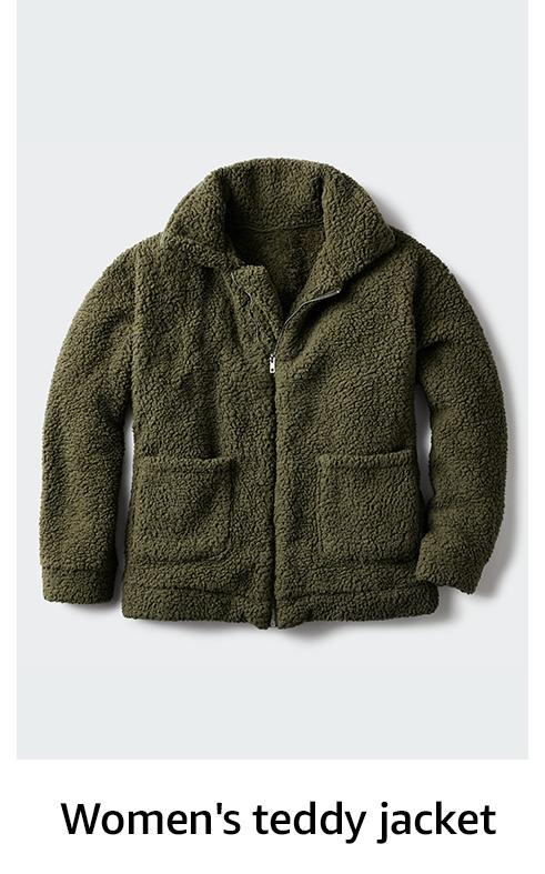 Women's teddy jacket