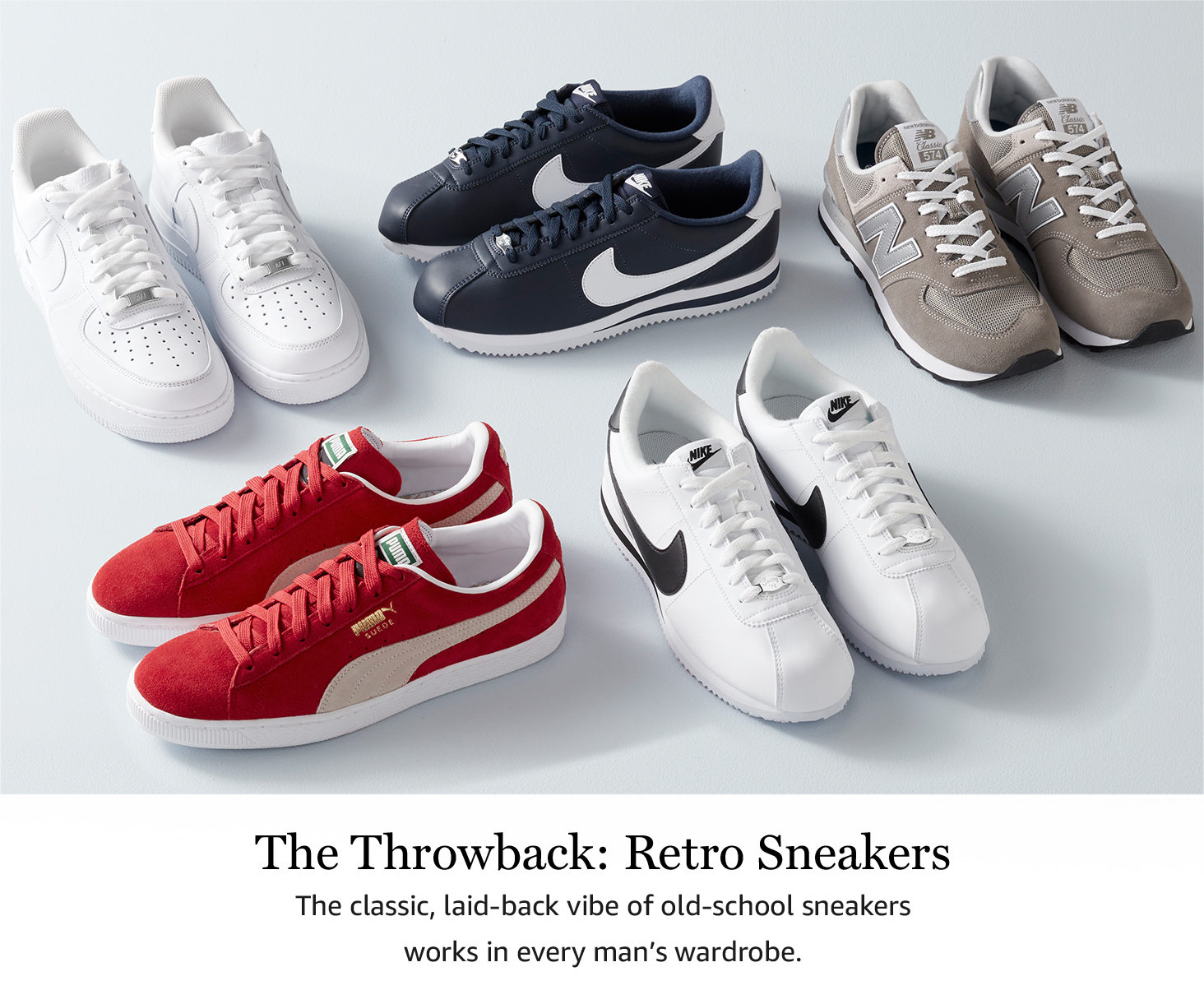 The Throwback: Retro Sneakers