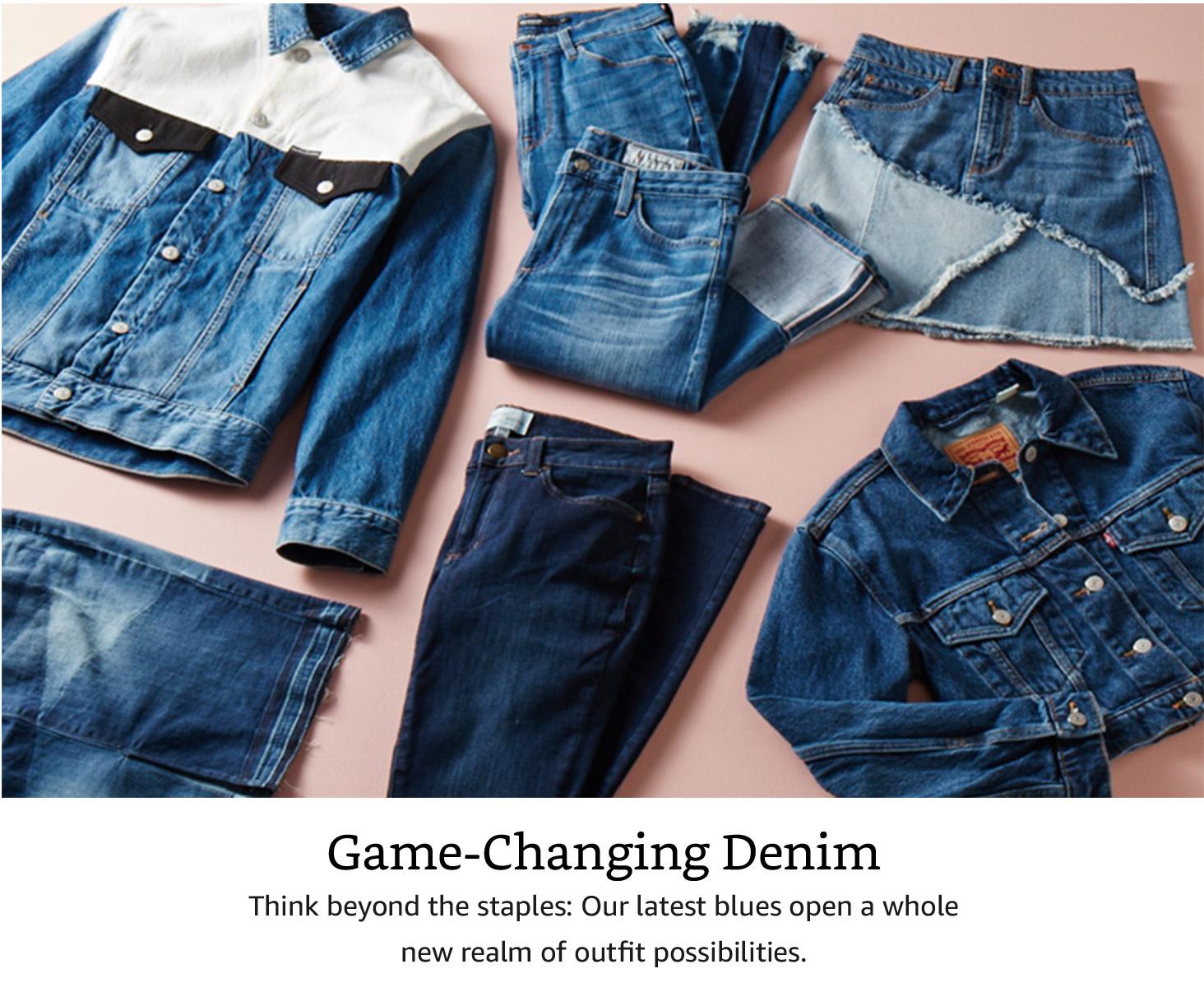 Game Changing Denim