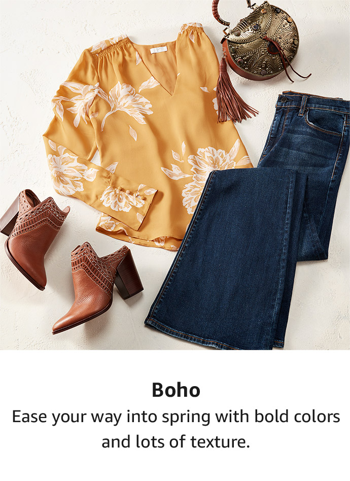 Shop by style: Boho
