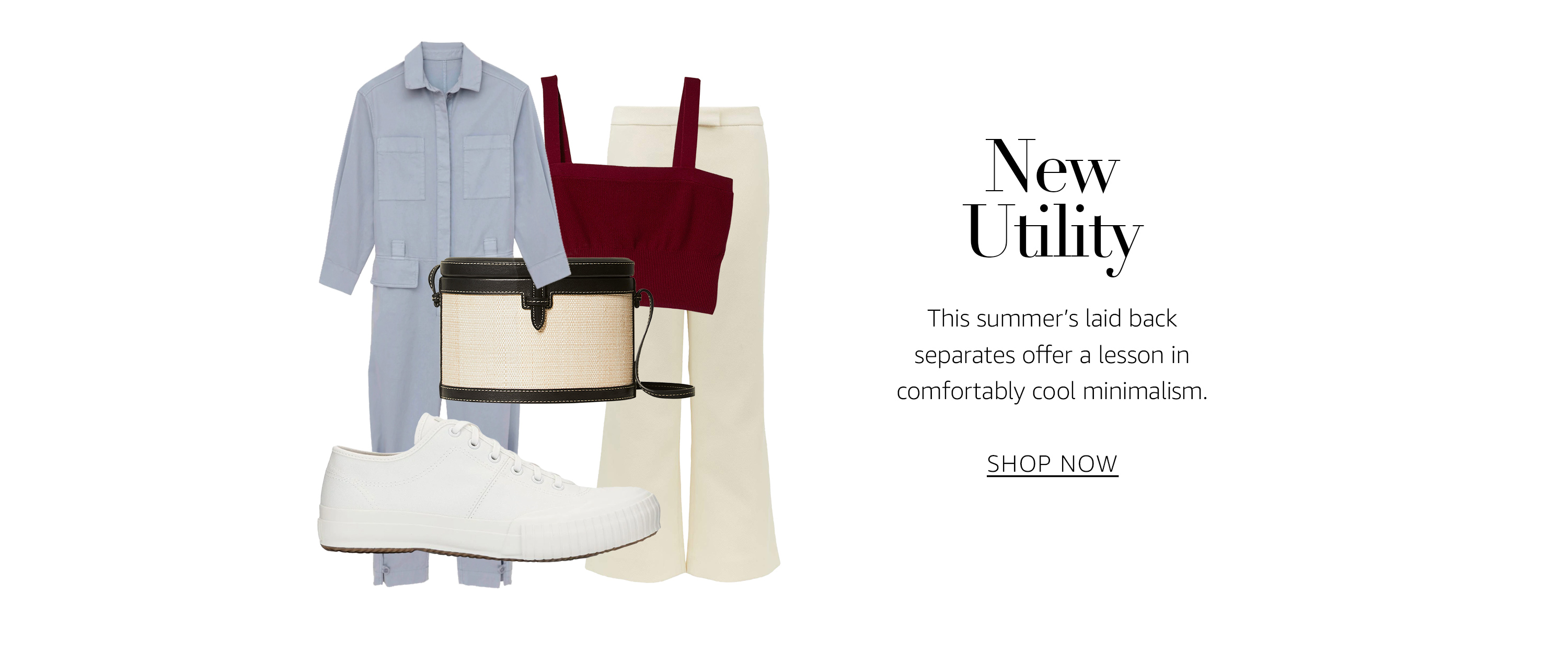 New Utility. This summer's laid back separates offer a lesson in comfortably cool minimalism.