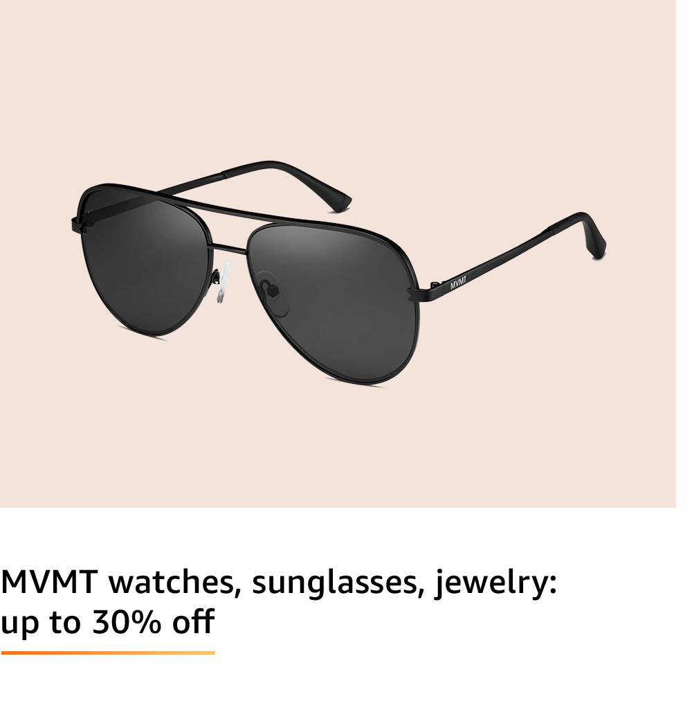 Deals on MVMT Sunglasses and Watches