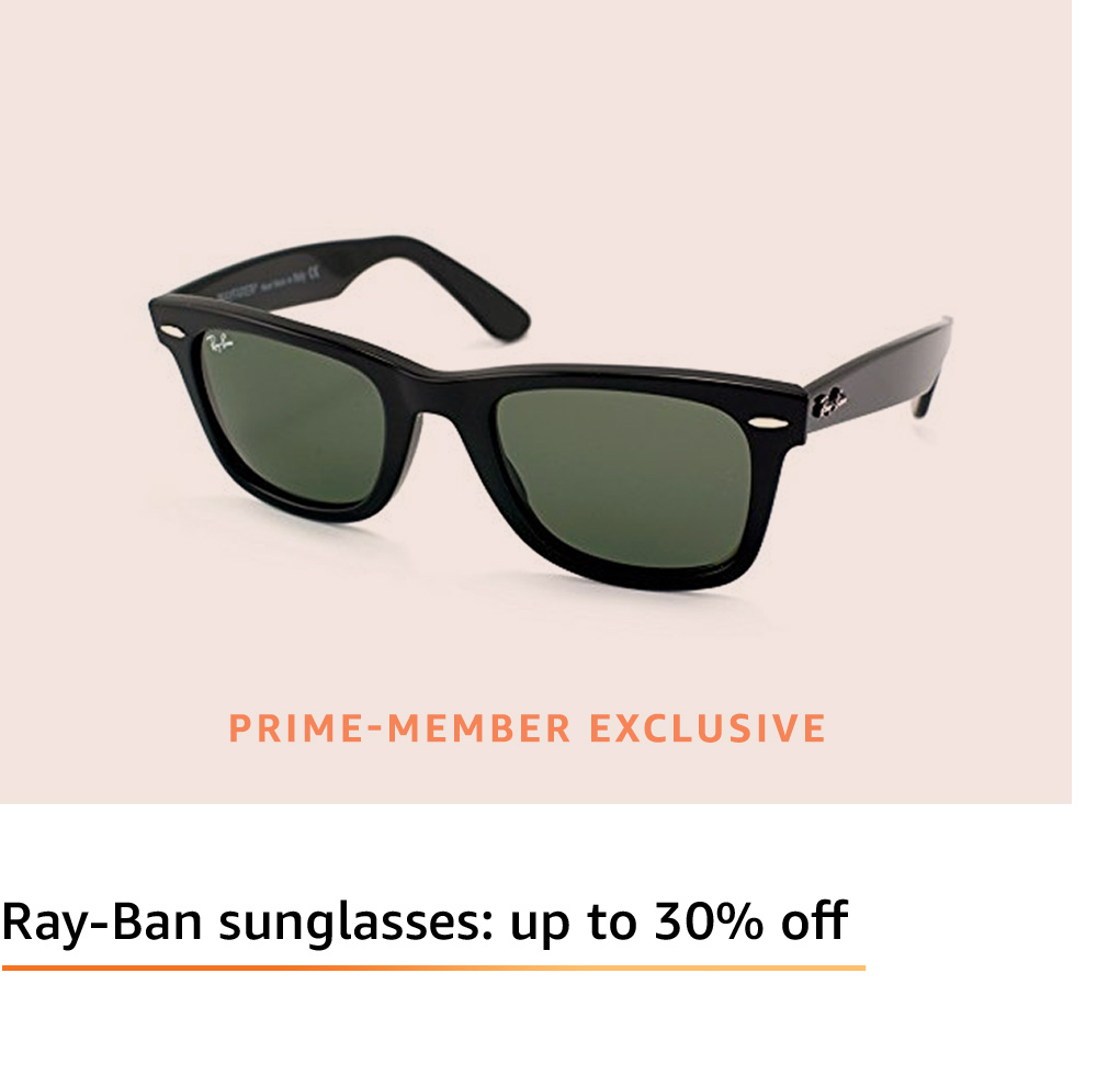 Deals on Ray-Ban Sunglasses and Oakley Sunglasses