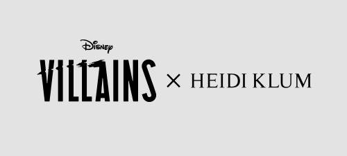 Disney Villains x Heidi Klum