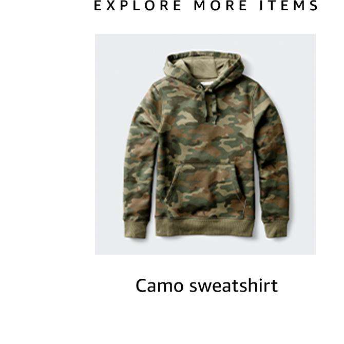 Camo sweatshirt