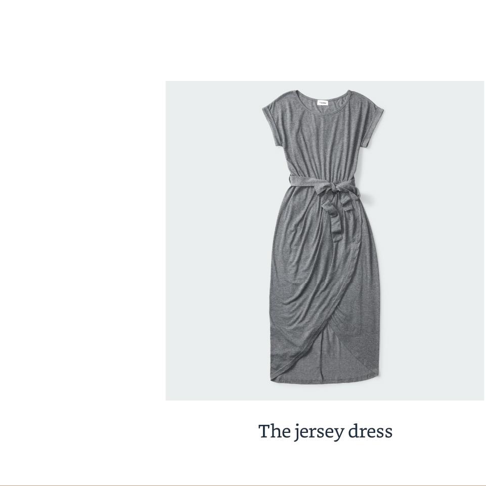 The jersey dress