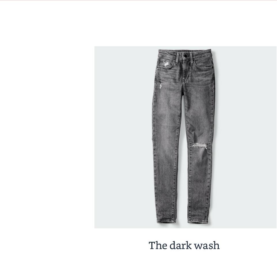 The dark wash