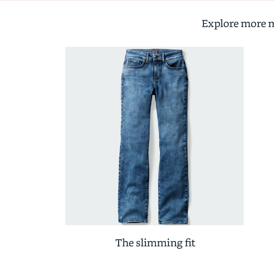 The slimming fit