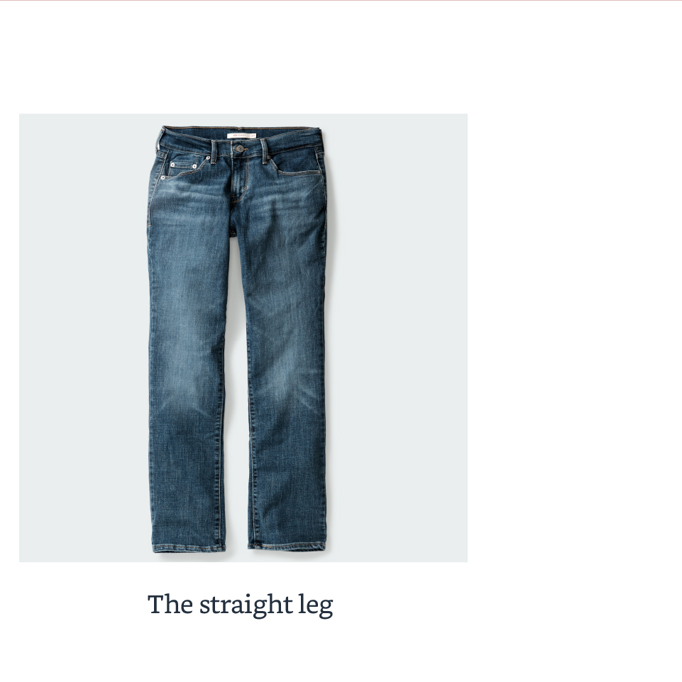 The straight leg