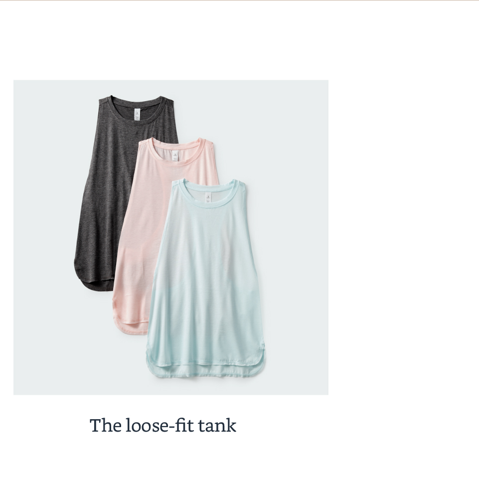 The loose-fit tank