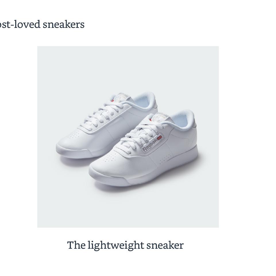 The lightweight sneaker