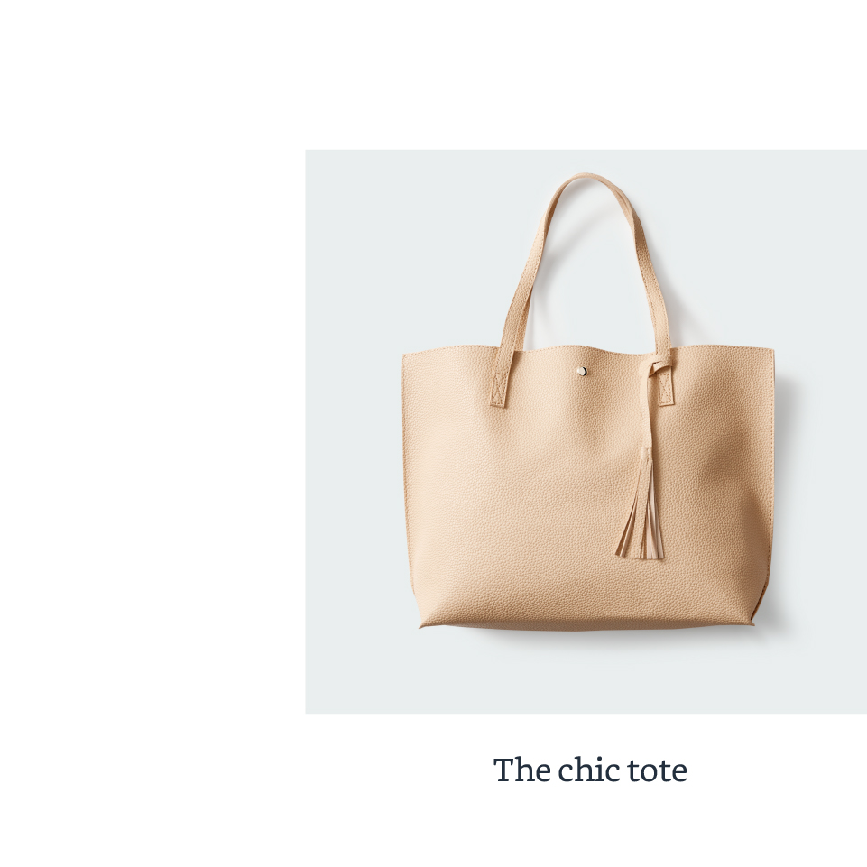 The chic tote