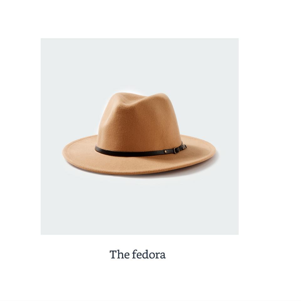 The fedora