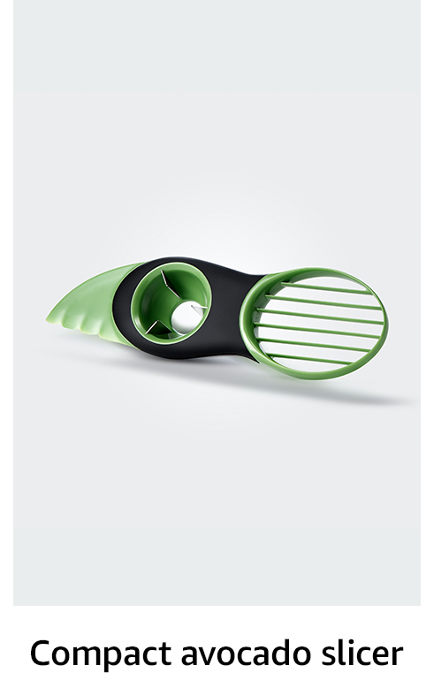 Compact avocado slicer