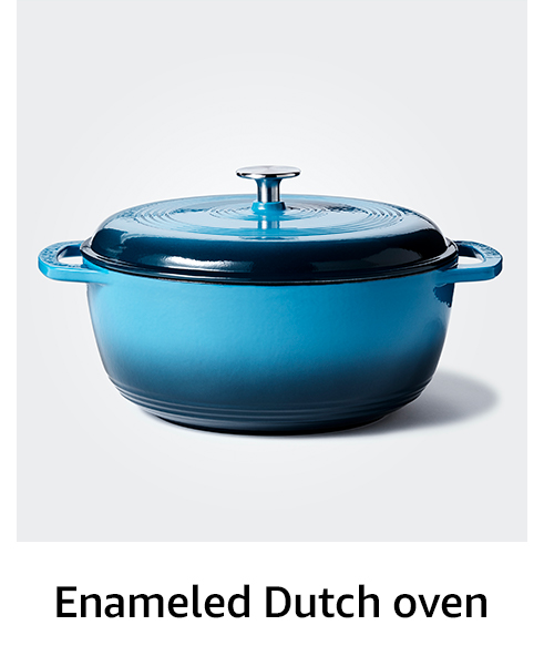 Enameled Dutch oven