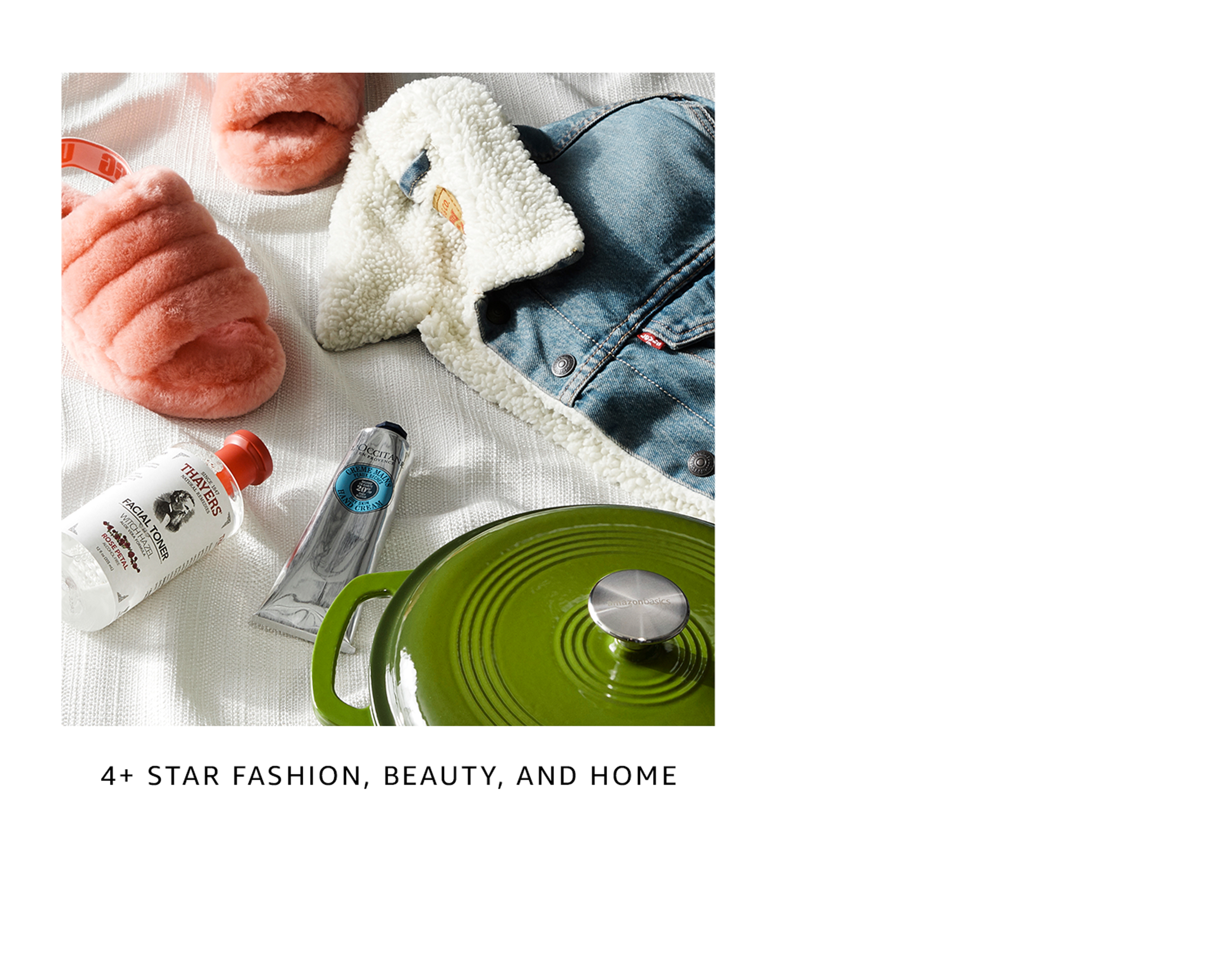 4+ star beauty, home & fashion