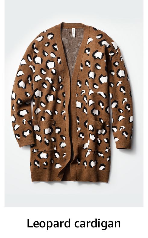 Leapord cardigan