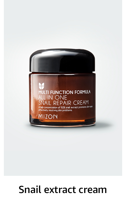Snail extract cream