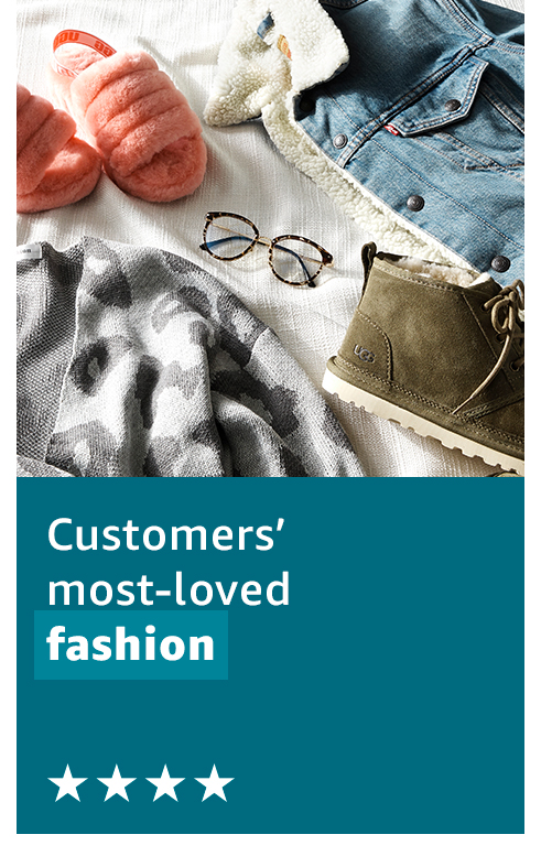 Customers' most-loved fashion