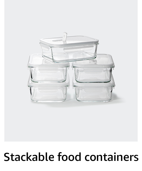 Stackable food containers