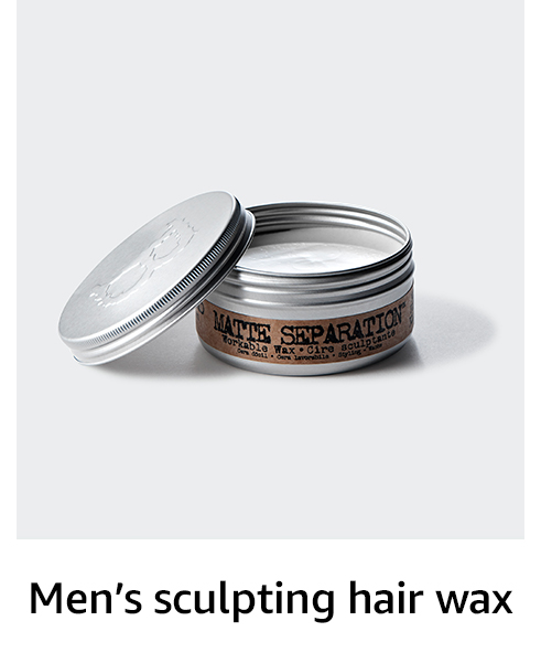 Men's sculpting hair wax