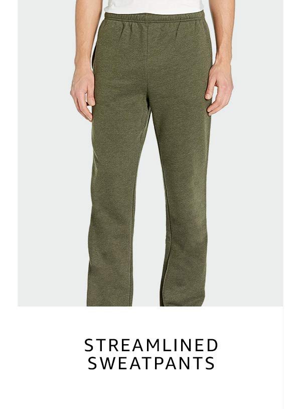 Streamlined sweatpants