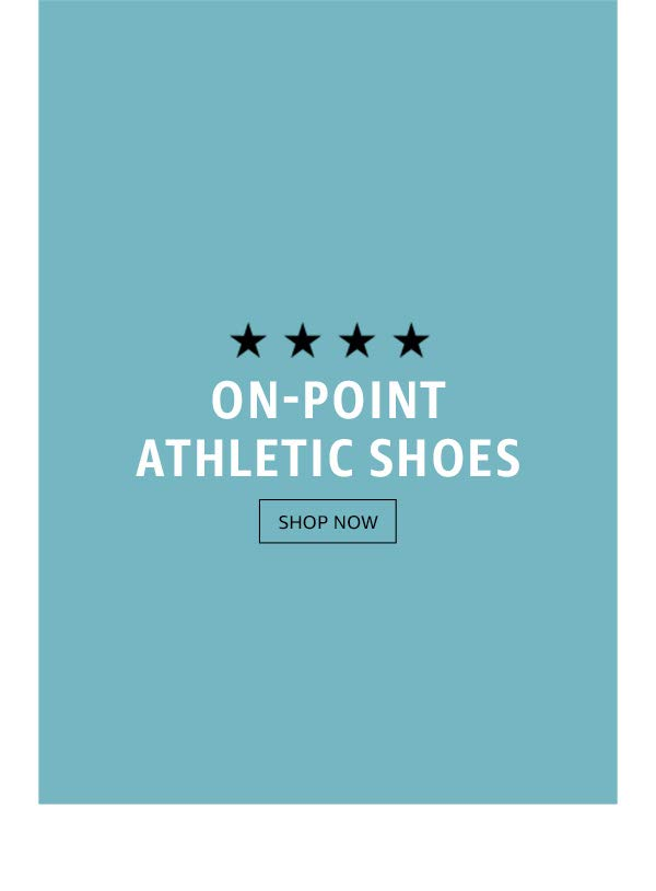 On-point athletic shoes