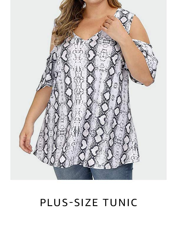 Plus-size tunic