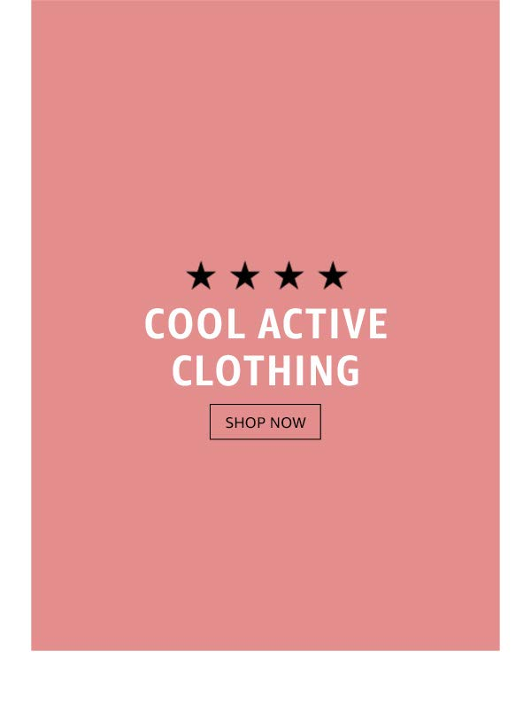 Cool active clothing