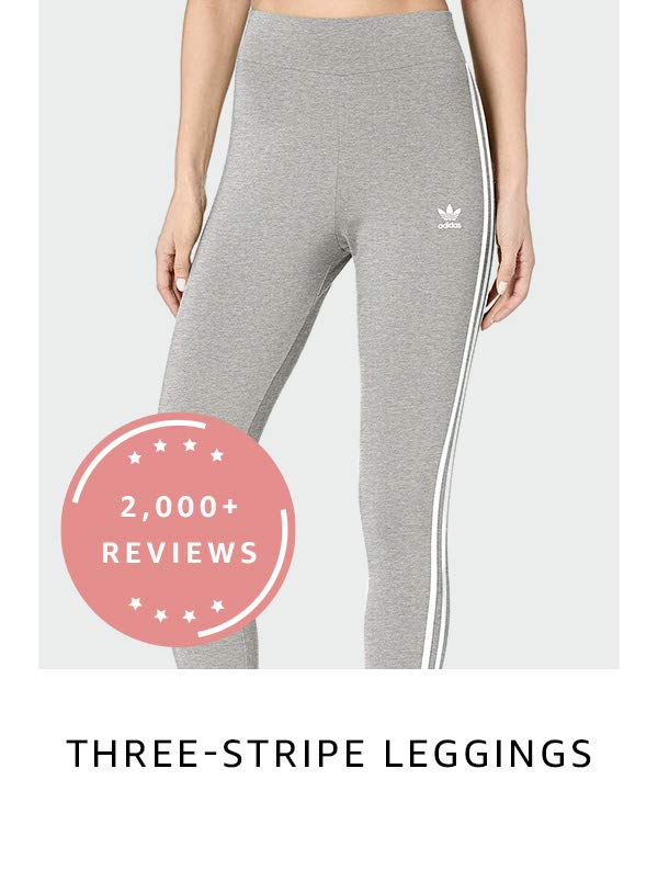 Three-stripe leggings