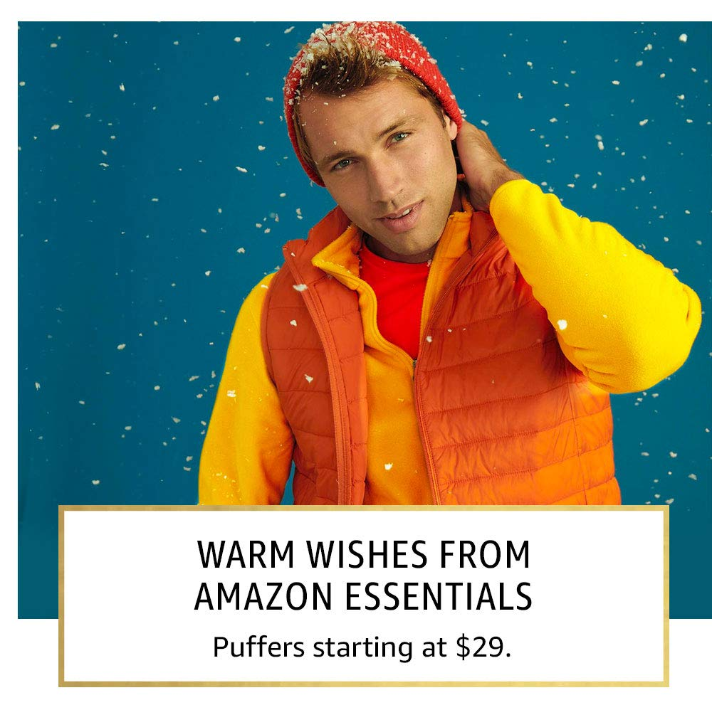 Warm wishes from Amazon Essentials